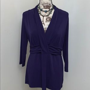 New York and Co. Purple blouse - Large